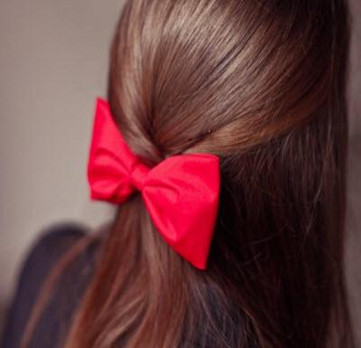 Банты на волосы фото