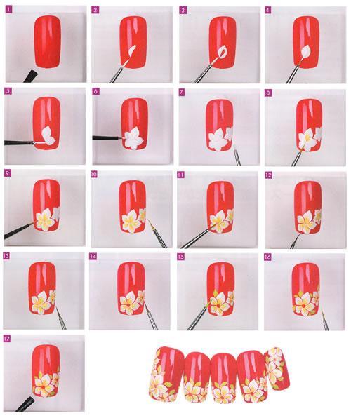 Дизайны ногтей как рисовать