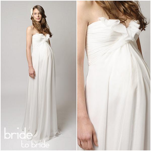 Свадебные платья для беременных фото, видео   Капушка