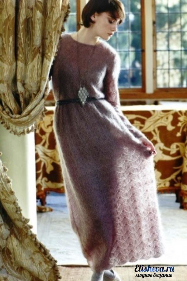 в пол дизайнерское платье