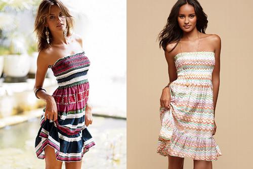 Быстро сшить платье для пляжа