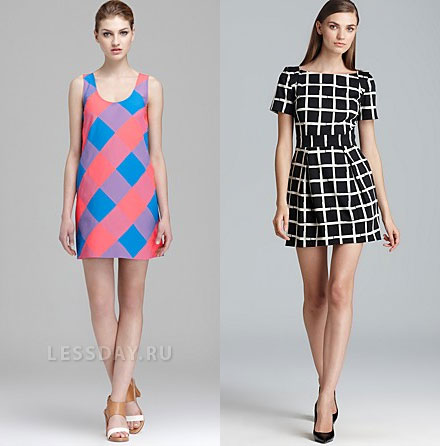 Модные платья весна-лето 2014, фото. Какие платья в моде летом