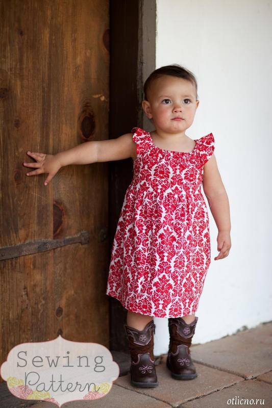 Идеи шитья летних платьев и сарафанов для девочек