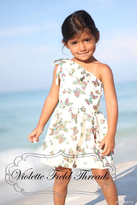 Как сшить летнее платье для девочки своими руками