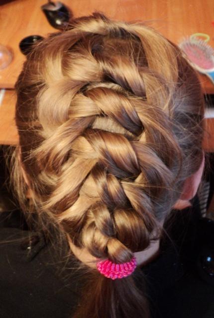 Плетение косы подростку