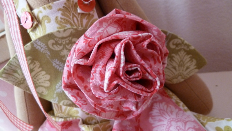 Цветок из джинсов своими руками