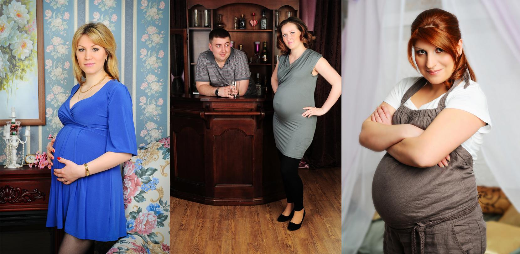 Фото беременной тещи