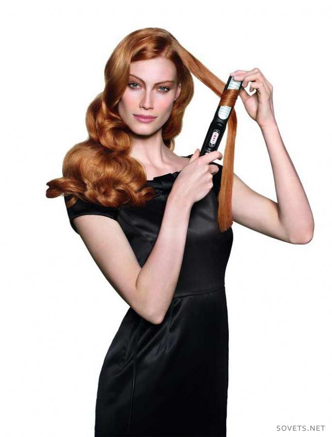 Как накручивать волосы утюжком