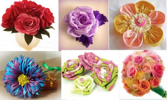 Цветы своими руками пошаговое фото легкие