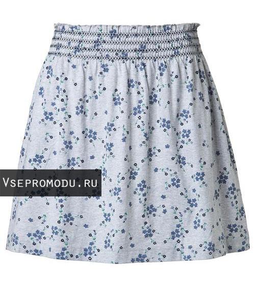 юбки в мелкий цветочек: