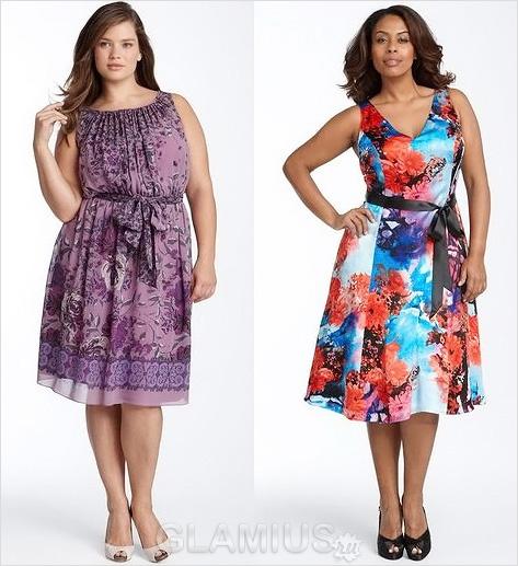 Платье для полных девушек - платья для полных женщин