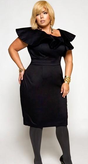 Какие платья носить женщинам с узкими