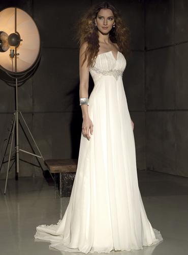 Свадебное Платье Стиль Ампир 107