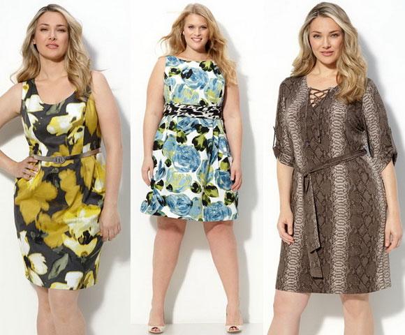 Летние платья для полных 2011 фото