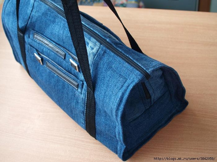 Сумка из джинс своими руками мастер класс