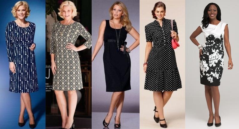 Платья для полных взрослых женщин