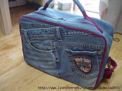 Текстильные фантазии и не только: Сумки из джинсов 13 фев 2012 Сумки из джинсов. . Автор: Better на 15:54