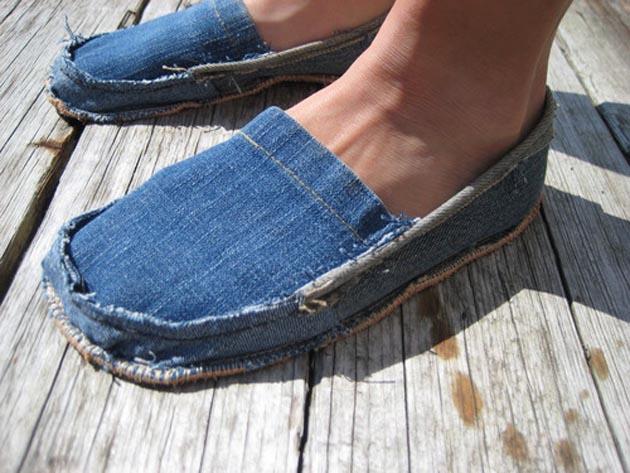 Что сшить из старых джинсов своими руками