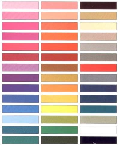 цветовая схема. Слева