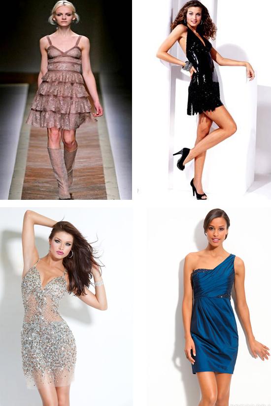 Быстрое платье на новый год