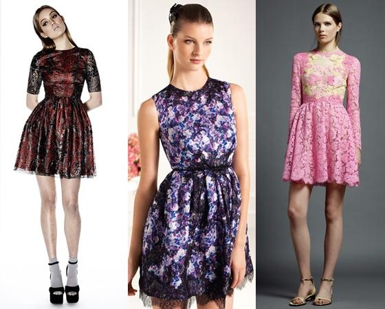 Короткие платья на выпускной 2013 года
