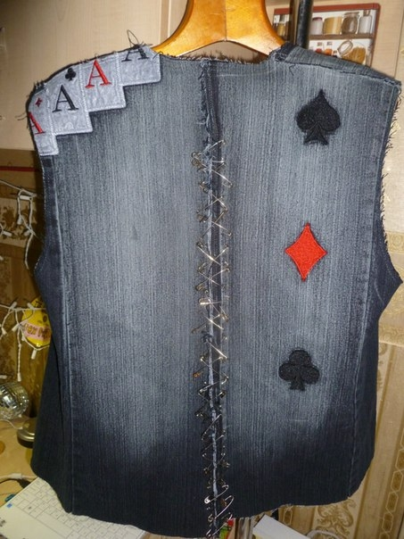 Установка кондиционерЖилетки из джинсов своими руками