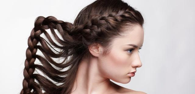 Плетения жгутов из волос видео