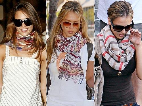 Как красиво завязать шарф: