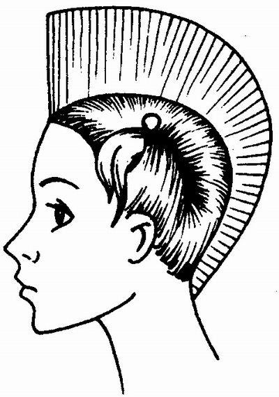 Смочите чистые волосы