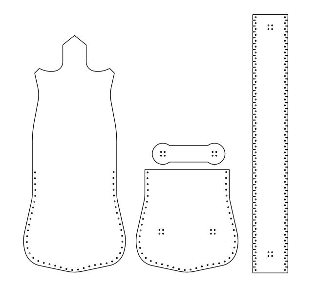 Выкройка маленькой сумочки из джинсов своими руками