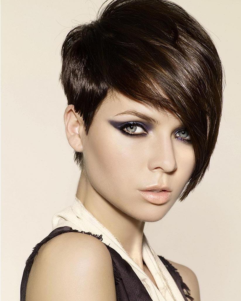 Красивые причёски на короткие волосы фото своими руками