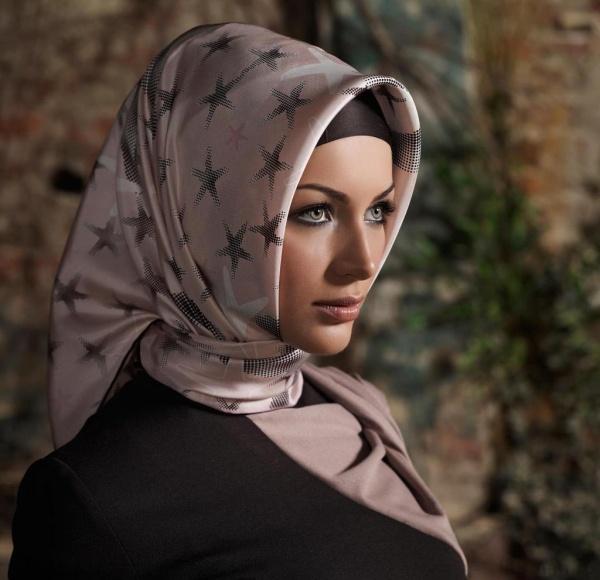 завязывания хиджаба