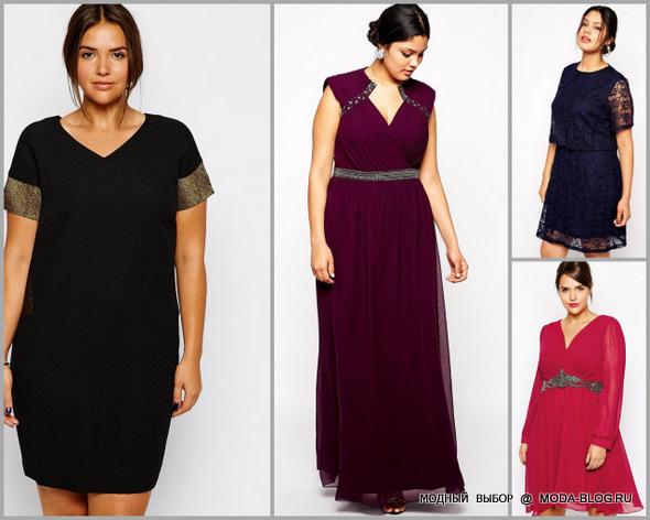 для полных 2013 Модные платья для