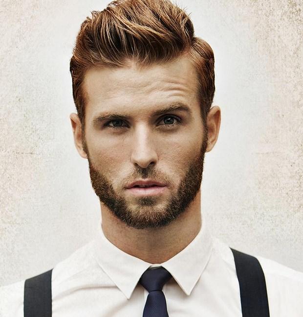 Бородатые модные мужчины