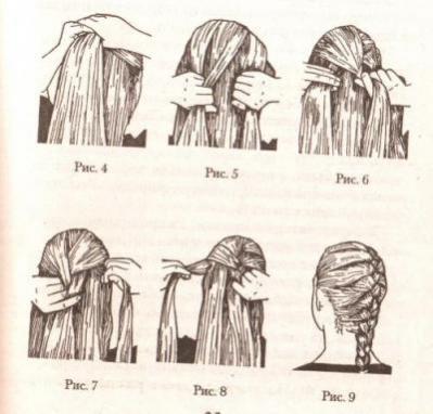 Как самостоятельно сделать французскую косу
