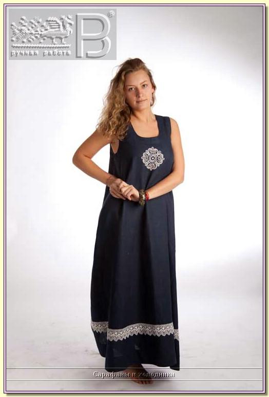 Сшить платье и сарафан из льна 279