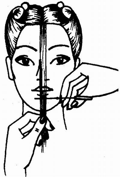 волос в стрижке «Каскад»