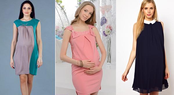 Сшить платье для беременных своими руками фото