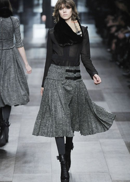 Вязаные юбки для полных
