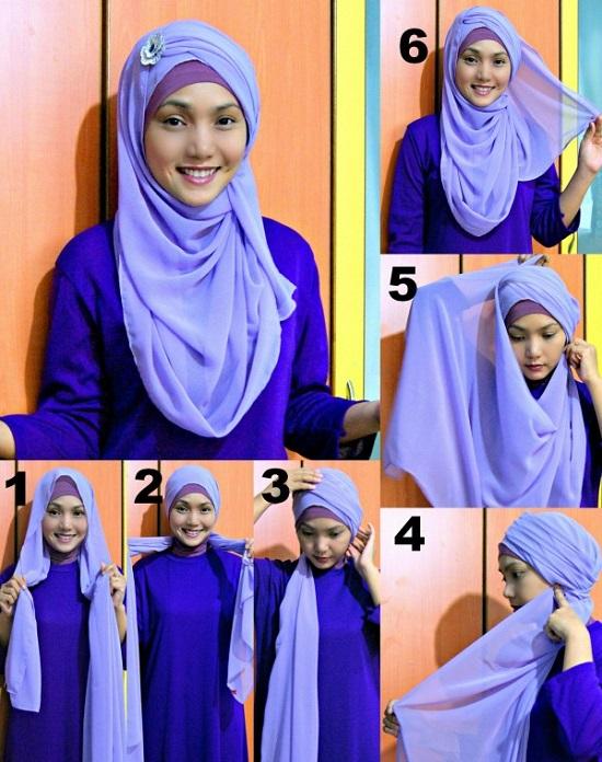 завязывания хиджаба фото