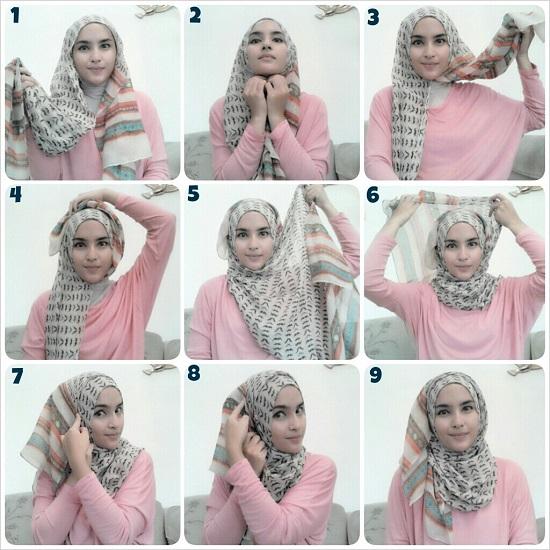 Как красиво завязывать хиджаб