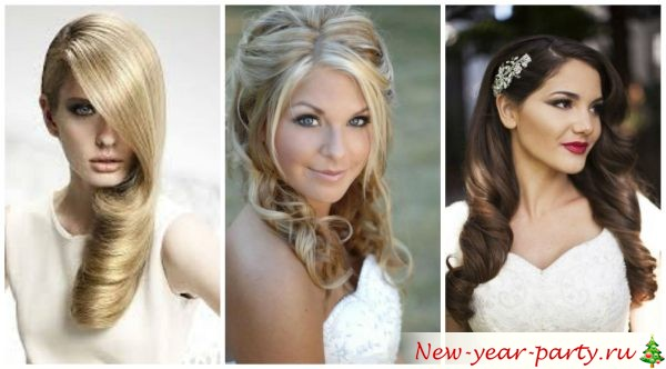 Прически на новый год 2016 на средние волосы своими руками