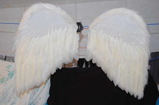Как сделать крылья ангела