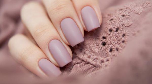 Дизайн ногтей однотонный фото
