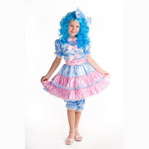 Мальвина платье своими руками