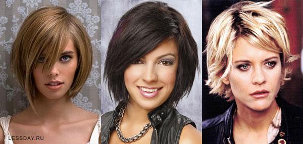 Модные причёски на средние