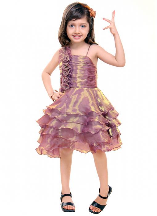 Нарядные платья для девочек своими руками фото