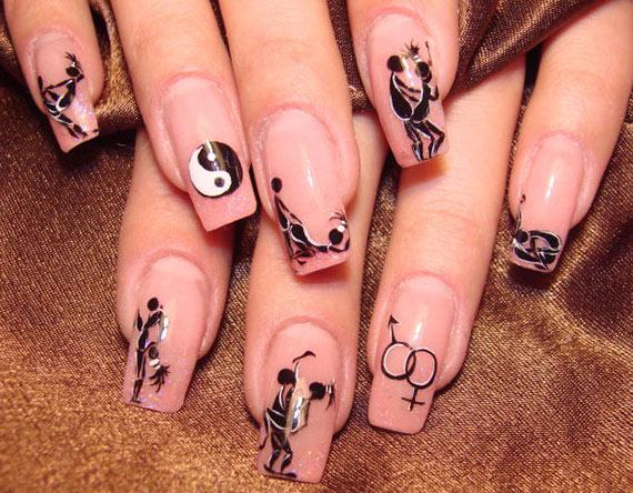 Дизайн ногтей сама себе фото