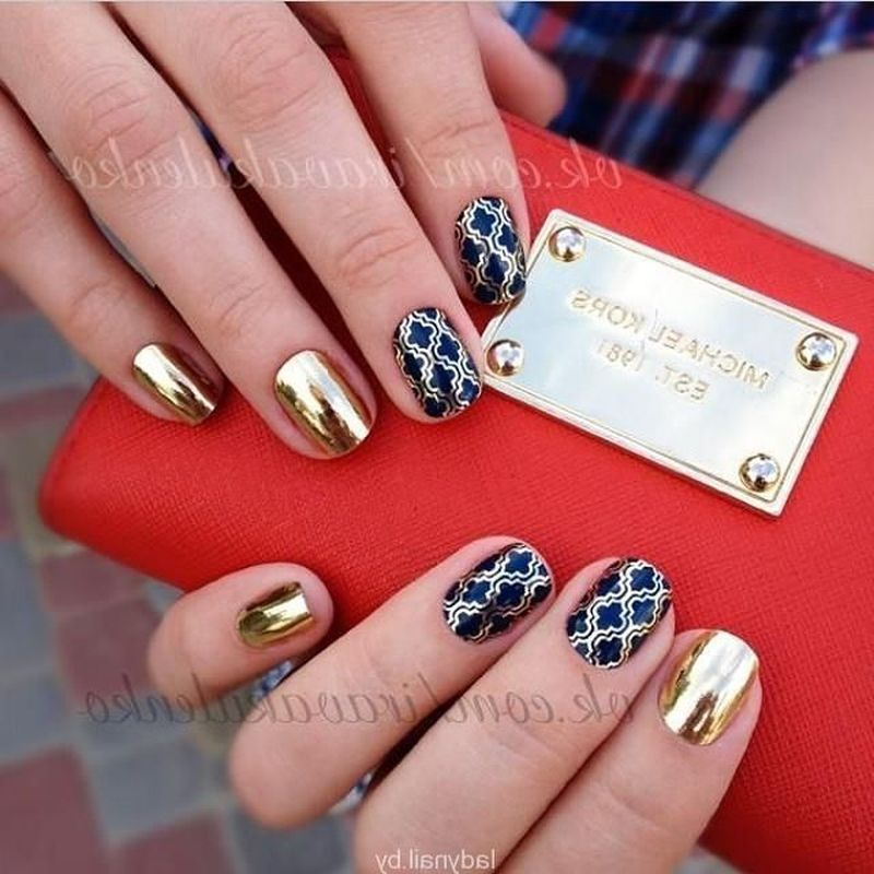 Дизайны ногтей гель красками