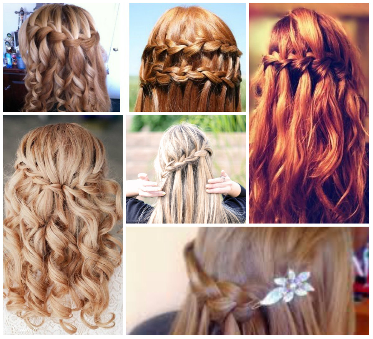 5 красивых причесок на длинные волосы